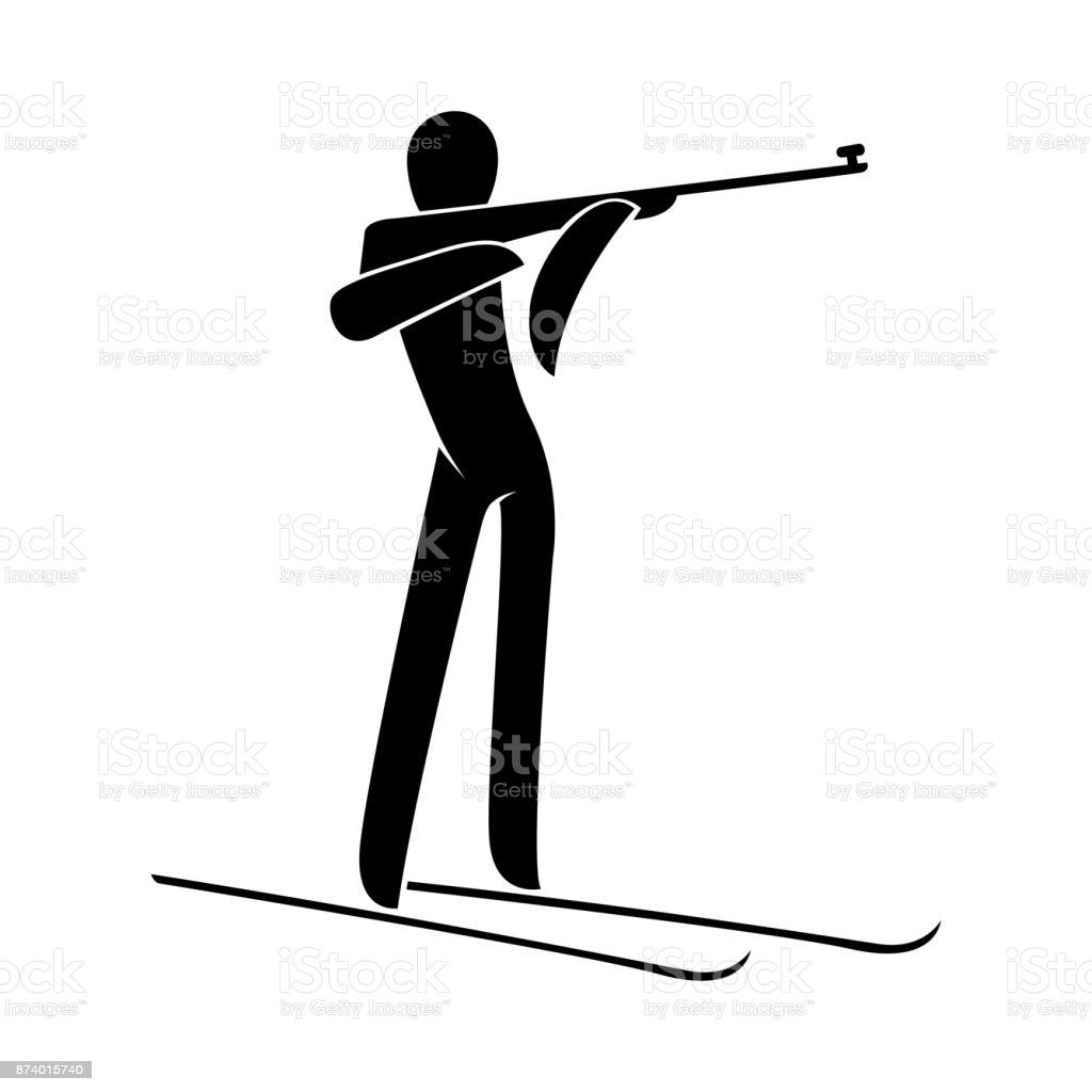 Picto-biathlon